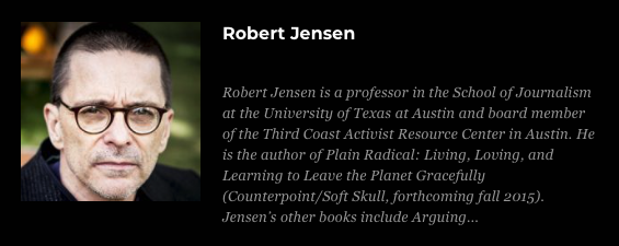 robert jensens patriotism A patriot further supports and acts in defense of his or country the term refers generally to a concept of national loyalty the concept of patriotism is multifaceted and is approached in different ways.