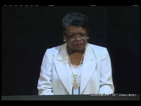 A Brave and Startling Truth – Maya Angelou – Video