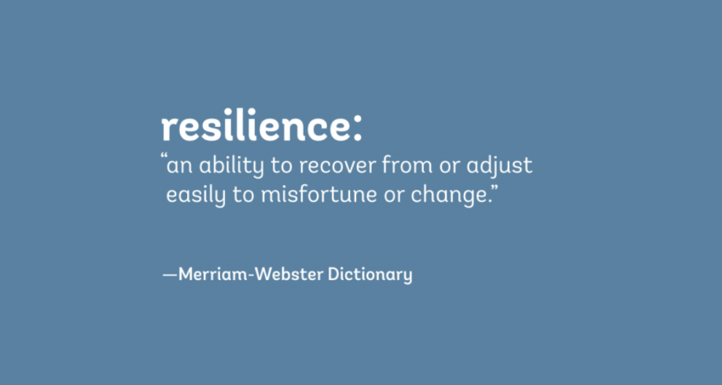 THE TERM RESILIENCE IS EVERYWHERE WHAT DOES IT MEAN – Kate Knuth / ENSIA